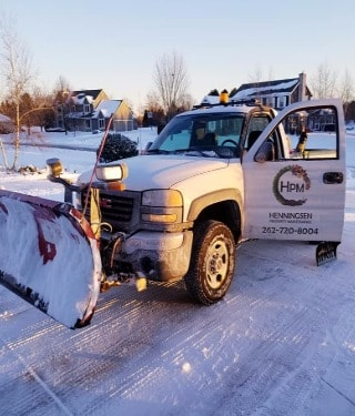 Commercial Parking Lot Snow Removal in Mukwonago, Wisconsin
