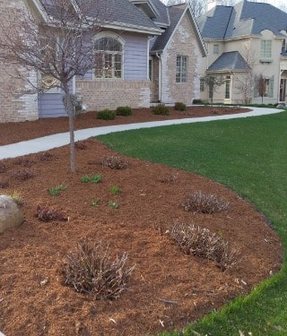 Spring Mulch Installation Services in Waukesha County, Wisconsin