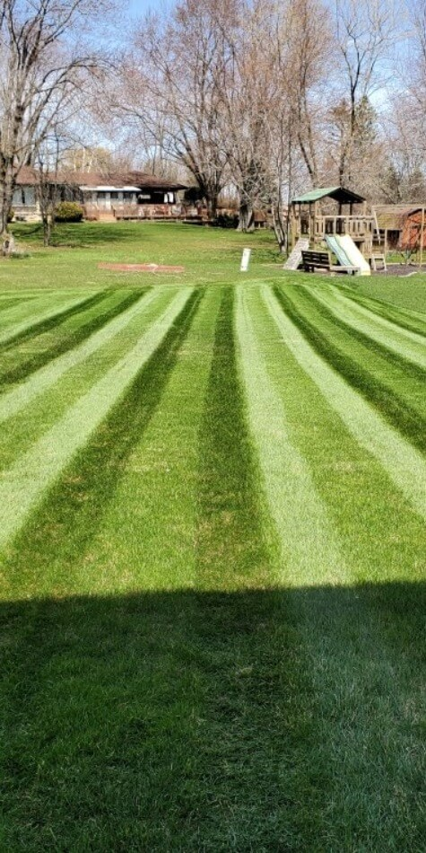 Professional Lawn Striping Services in Waukesha